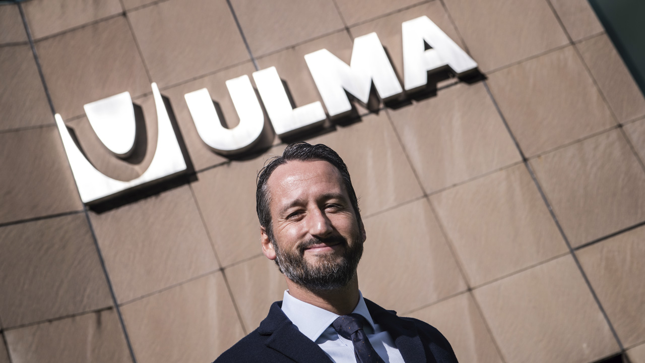 César Nosti, new commercial director of ULMA Handling Systems