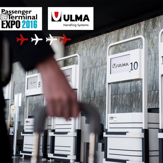 "ULMA HANDLING SYSTEMS ""TAKES OFF"" AT PASSENGER TERMINAL EXPO 2016"