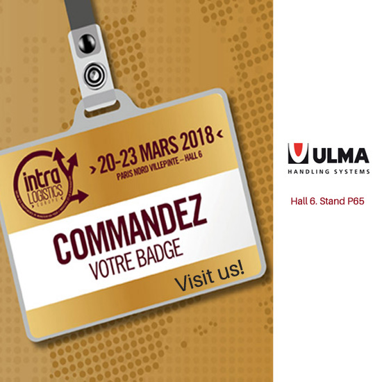 ULMA HANDLING SYSTEMS À INTRALOGISTICS 2018