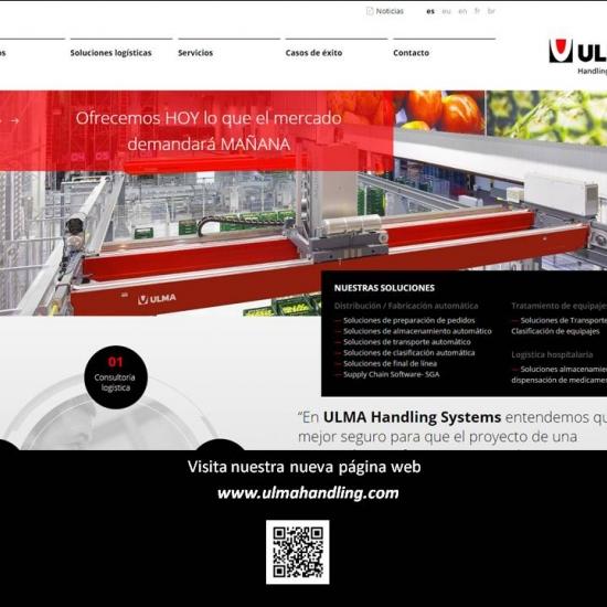 LA NUEVA PÁGINA WEB DE ULMA