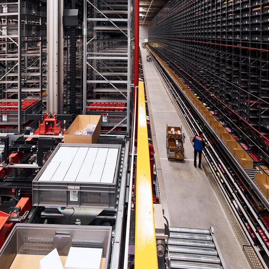 Solutions de stockage automatisé