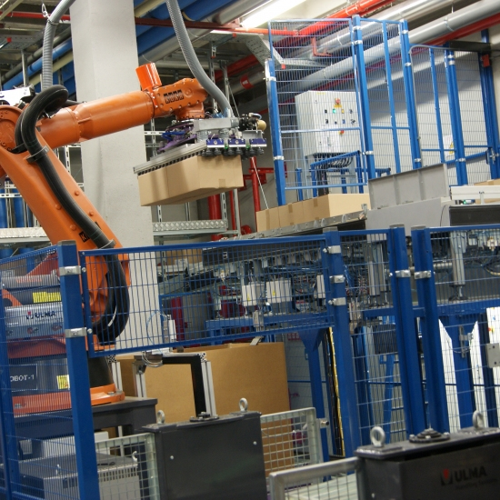 Automatic palletising