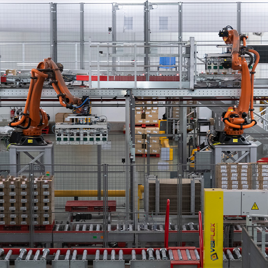 Robot paletizatzailea