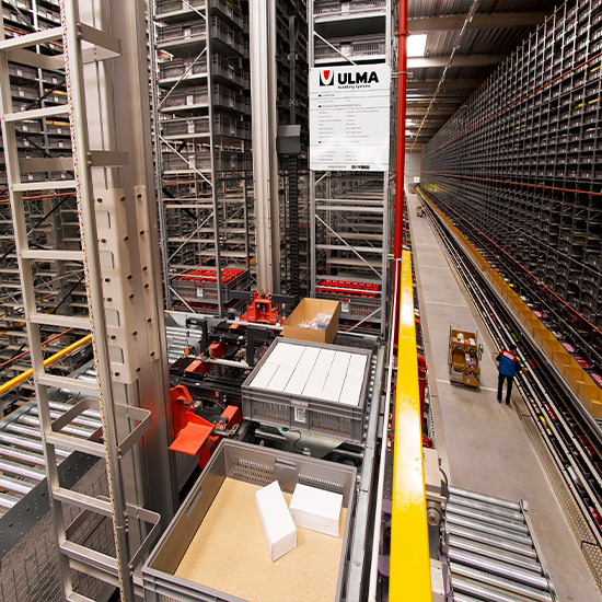 Automated storage at Systeme U