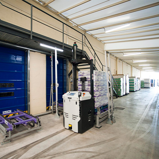 Saplex - AGV Automated Guided Vehicle