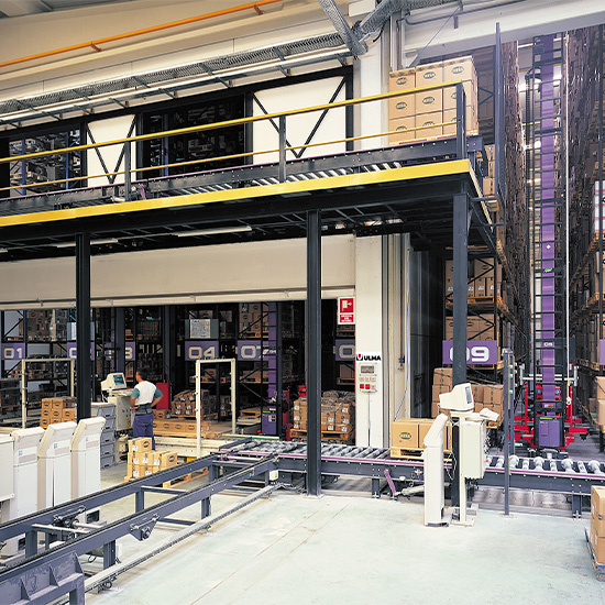 Automated storage at AMIG