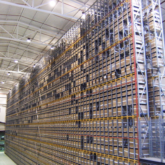 Automated storage at DBG Logistica