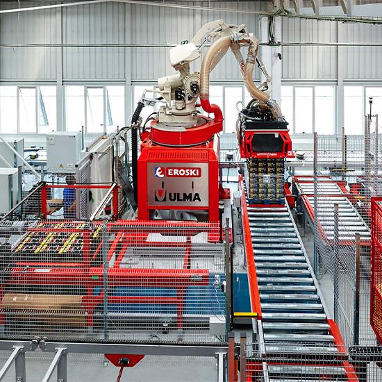 Eroski Elorrio - Sistema de automatização único na Europa