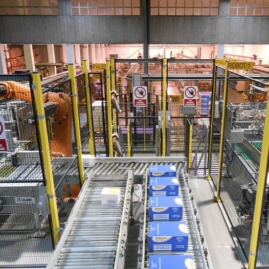 Conservas Friscos - Automatización logística