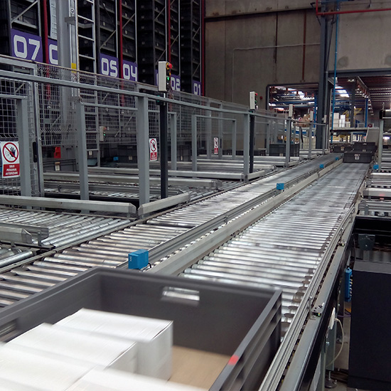 Logistic automation in EHLIS