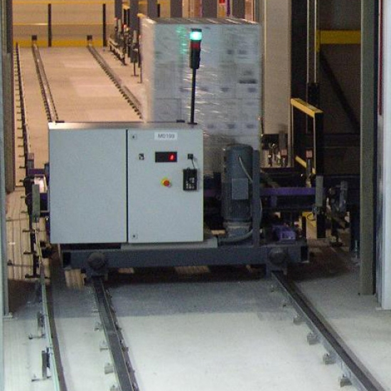 Shuttle Cart - Conveyor and automatic guides vehicles