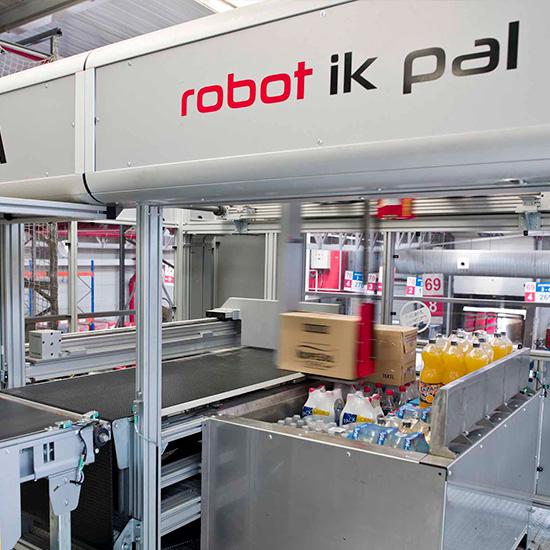 Robot IK PAL - Préparation des commandes