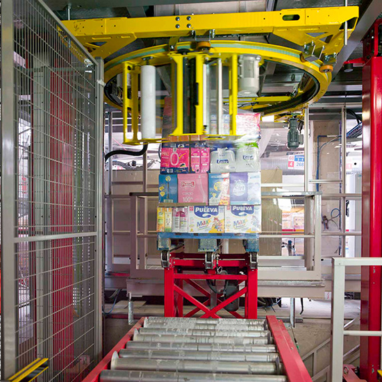 Robot IK PAL - Innovative multi-reference palletiser