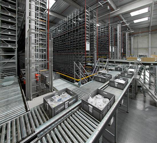 Mini Load - Préparation de commandes et le stockage automatisé