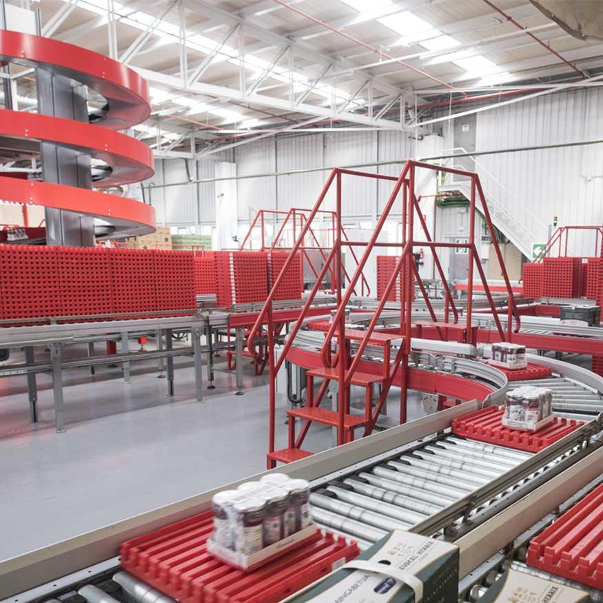 Lightweight load conveyors